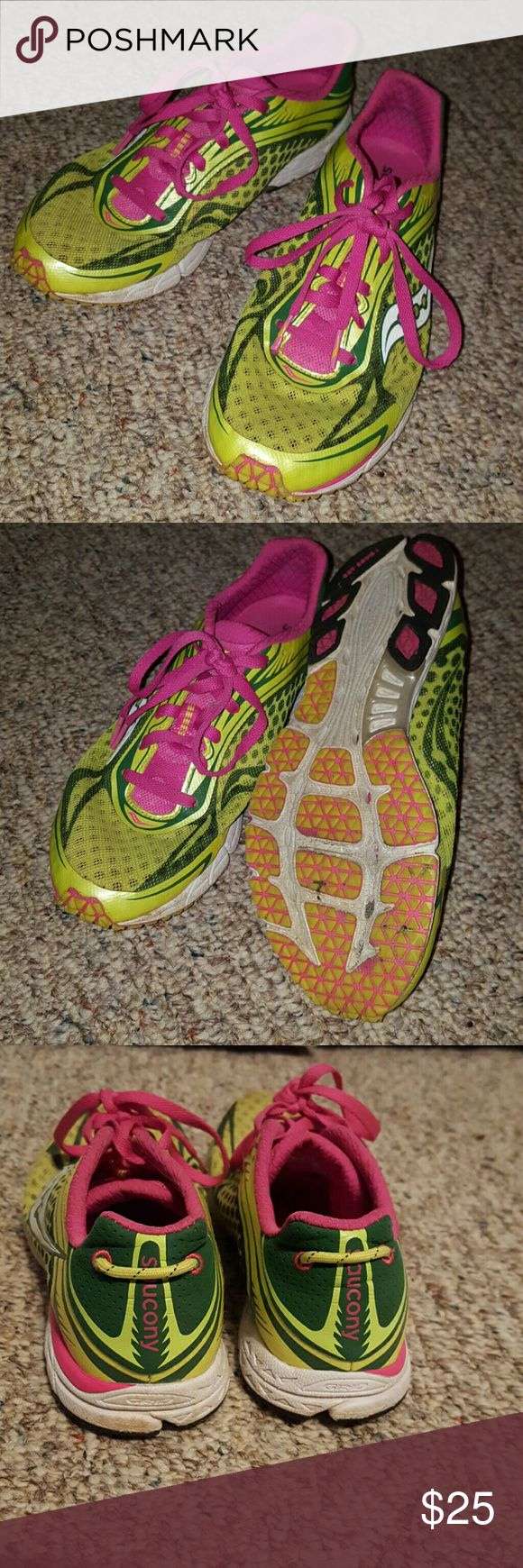 Type A race shoe Good for 5K-10K. Very light. Saucony Shoes Athletic Shoes