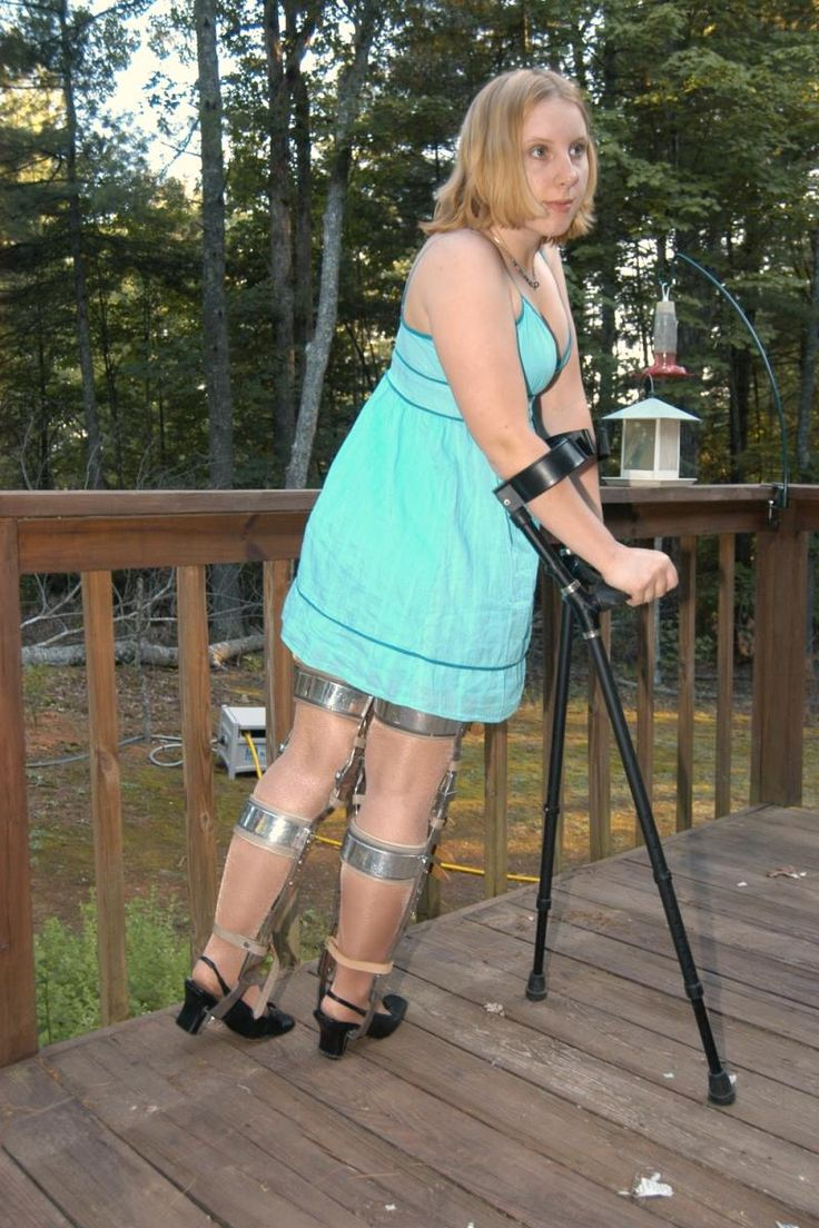 kafo leg braces and crutches