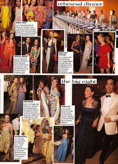 Lauren Davis's Wedding, As Featured in Vogue US March 2008 | POPSUGAR Celebrity