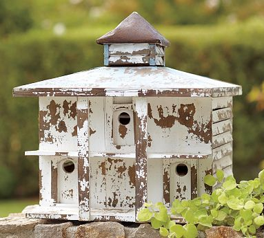 Birdhouse  /Shabby Chic