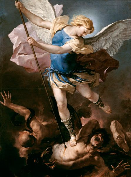 St Michael the Archangel. Luca Giordano (1632-1705)