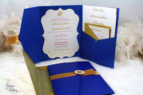 Best 20 Gold Wedding Invitation Suites Ideas On Pinterest