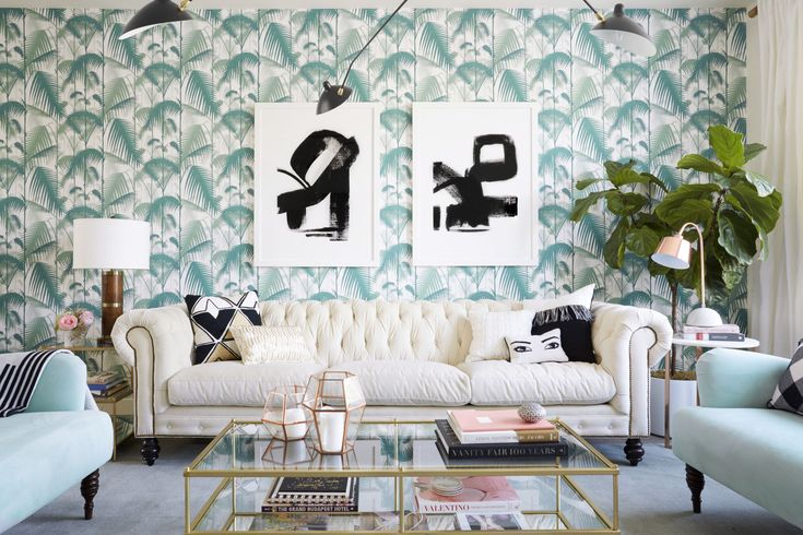 We've made the challenge of layering art on wallpaper a bit easier by showing you our favorite pairings for every style and how to get the look!