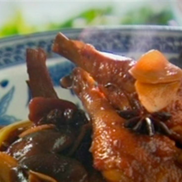 "Try this Chicken Braised with Soy Sauce and Shao Hsing Wine recipe by Chef Kylie Kwong. This recipe is from the show Kylie Kwong: My China. ""Repinned by Keva xo""."