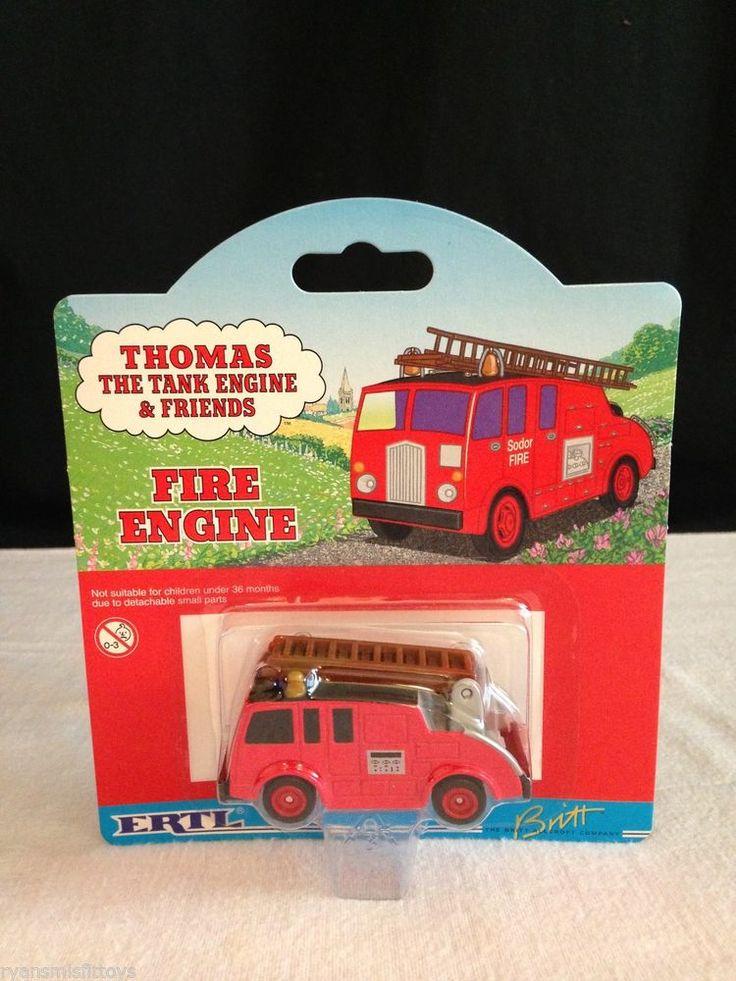 NEW Thomas The Tank Engine & Friends RARE #64 FIRE ENGINE ~ 2000 Ertl/ Britt  #Ertl