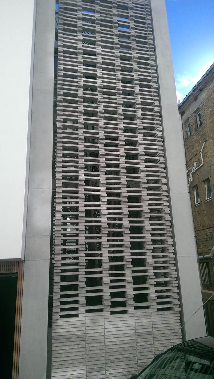 Clever use of long bricks at Bondi