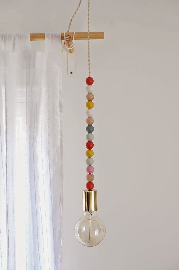 diy wooden bead pendant light blown pendant lights lighting september 15