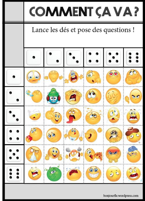 This activity is so much fun for your beginner French students and it gets them talking! https://bonjourfle.files.wordpress.com/2014/08/jeu-doublede-commentcava.jpg …