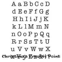 Stempel ABC-Buchstaben Schreibmaschinenschrift  #buchstaben #schreibmaschinensch… – DIY Tattoo