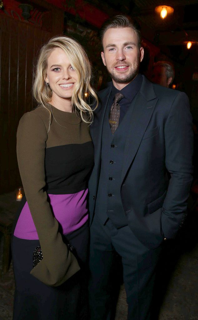 Alice Eve & Chris Evans from The Big Picture: Today's Hot Pics  The Before We Go co-stars are all smiles at the film's premiere party in NYC.