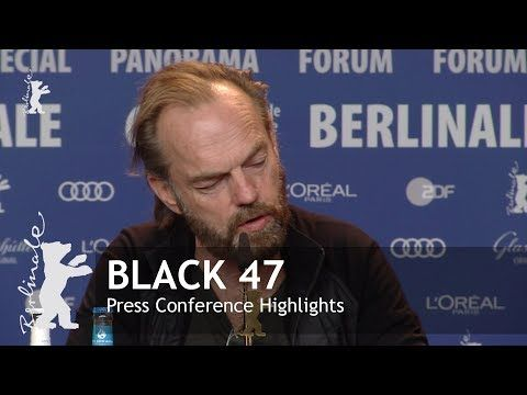 (24) Black 47 | Press Conference Highlights | Berlinale 2018 - YouTube