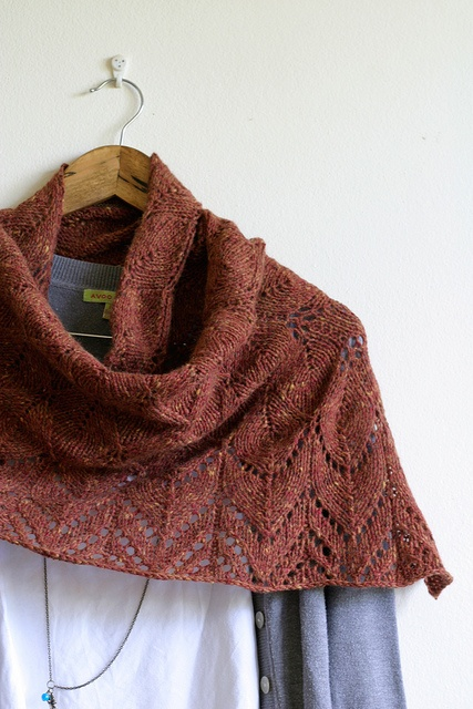 springtime_shawl3 by Spunkyarn, via Flickr