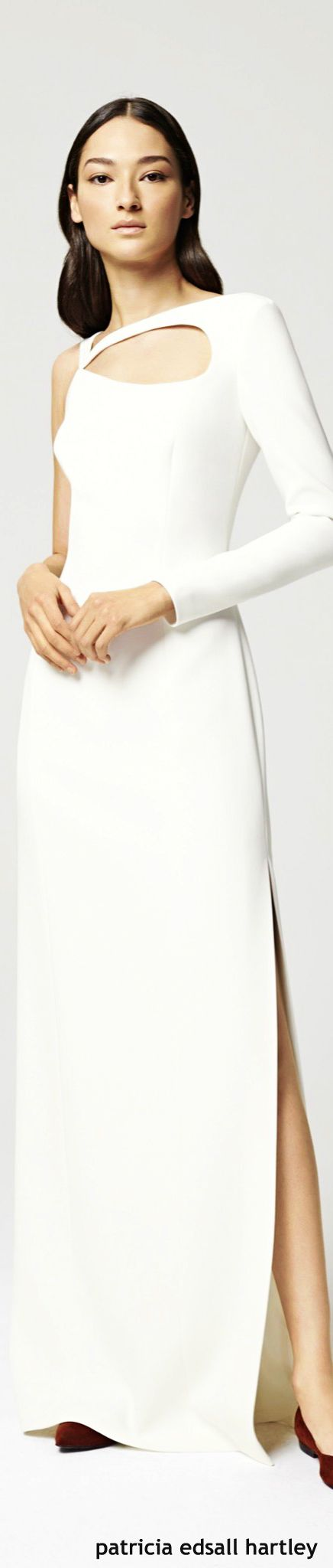 Escada Resort 2016 •  WHITE • HAUTE • CHIC  • ❤️ ✿ιиѕριяαтισи❀ #abbigliamento