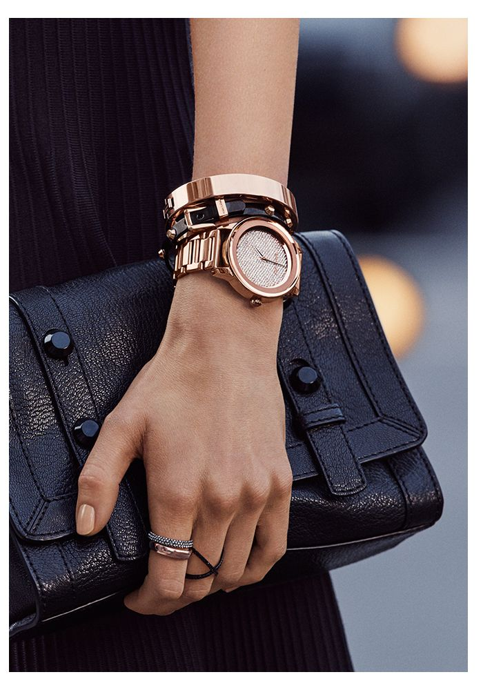 Michael Kors watches on Amazon - Kinley Pave Rose Gold #rose #gold #watch #crystal #pave #michael #kors