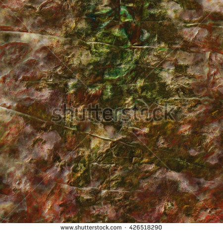 Grunge background. Texture of colorful stone wall. - stock photo