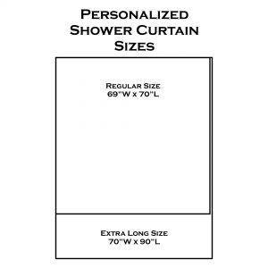 Size Of Regular Shower Curtain