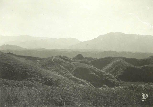 Pemandangan Jalan Dan Pegunungan Di Sulawesi Sekitar 1911 Pemandangan Indonesia Jalan