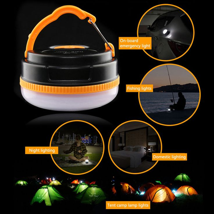 Outdoor Campping Portable Light Solar Power Multifunction Emergency LED Lights #Unbranded