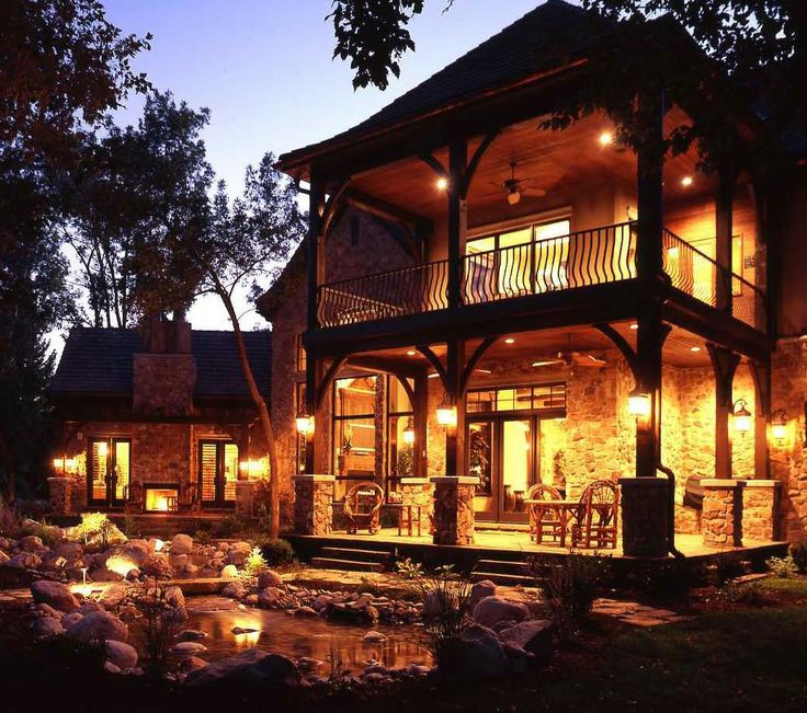 Love the two story deck dream home pinterest the for Two story deck
