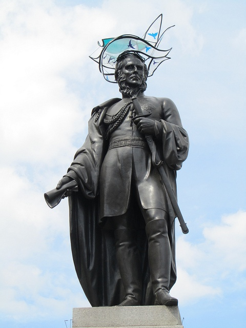 Hatwalk - Statue of General Sir Charles Napier - Hat by Sophie Beale by JulesFoto, via Flickr