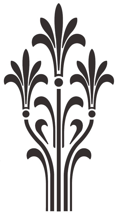 Asphodel decal. More remodeling inspiration... #PersephoneIQH