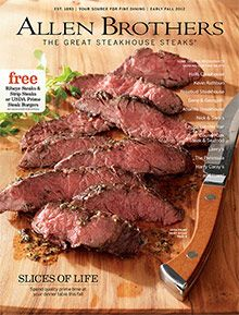 Allen Brothers  Gourmet mail order steaks, featuring the finest USDA Prime beef  #SendingAllMyLove #HolidayHowTo