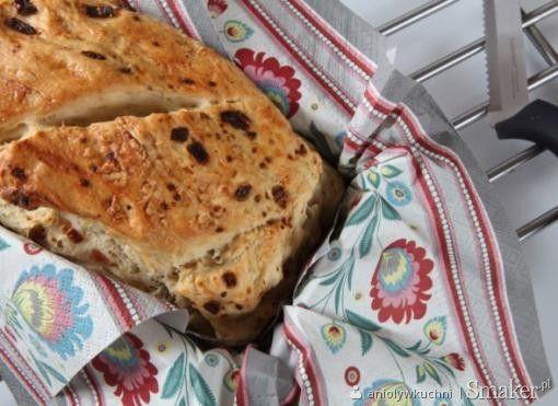 Chlebek cebulowy z majerankiem. Kliknij w zdjęcie aby zobaczyć przepis!