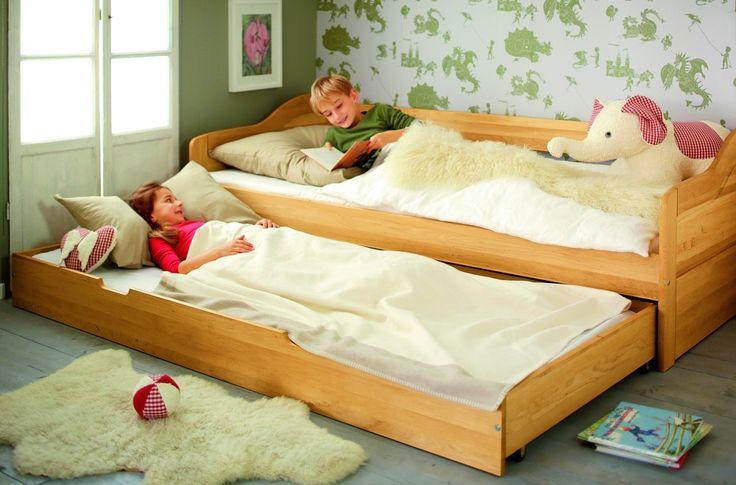 Spar-Set: Funktionsbett Sofabett mit Matratzenbettkasten 90x200 Nico