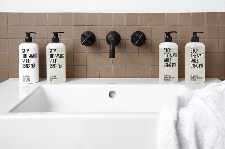 Für Hotels | STOP THE WATER WHILE USING ME!