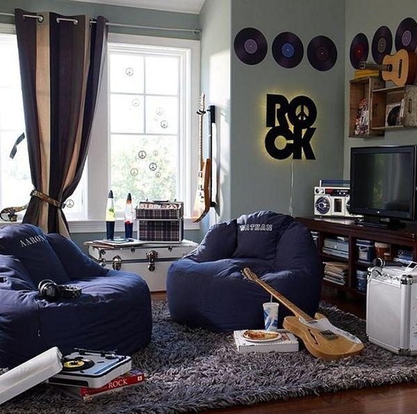 20 inspiring music themed bedroom ideas