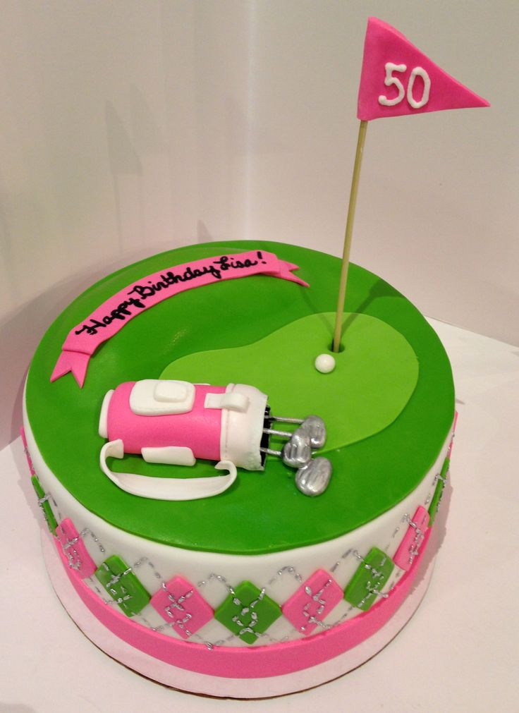 Golf Birthday Cakes Th
