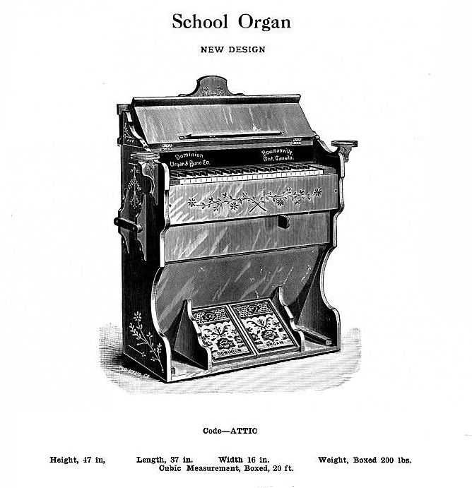 Dominion - 1M Reed Organ. School Organ