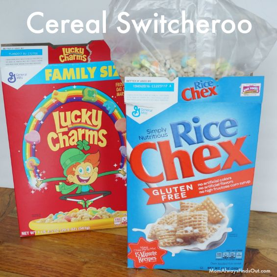 April Fools Day Pranks - Cereal Switcheroo Joke for Kids #aprilfoolsday #aprilfools #pranks www.facebook.com/CollegeEscrowInc