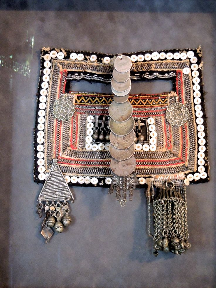 Antique Bedouin mask, Saudi Arabia by J.Lewis