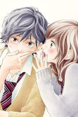 Blue Spring Ride (Ao Haru Ride). The plot, to be honest, isn't really that captivating or interesting, but the characters are very strong and conflicting with each other.