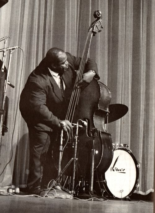 Willie Dixon (Photo de Jean-Pierre Leloir)