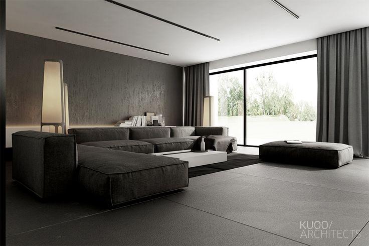 Porszewice // Dom Jednorodzinny // 220 M2   Kuoo Architects