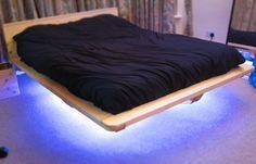 Как сделать современную кровать, «парящую» в воздухе — Своими руками