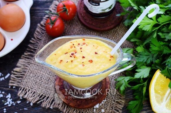 Рецепт беарнского соуса - Беарнеза