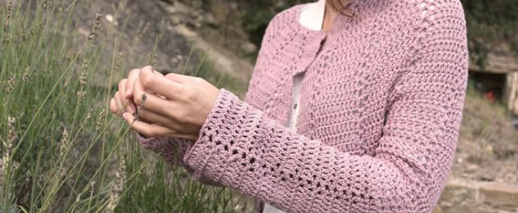 Free Crochet Cardigan Pattern with Video  Tutorial