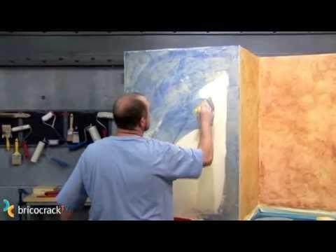 Pintura: hacer un acabado rústico en una pared (BricocrackTV)