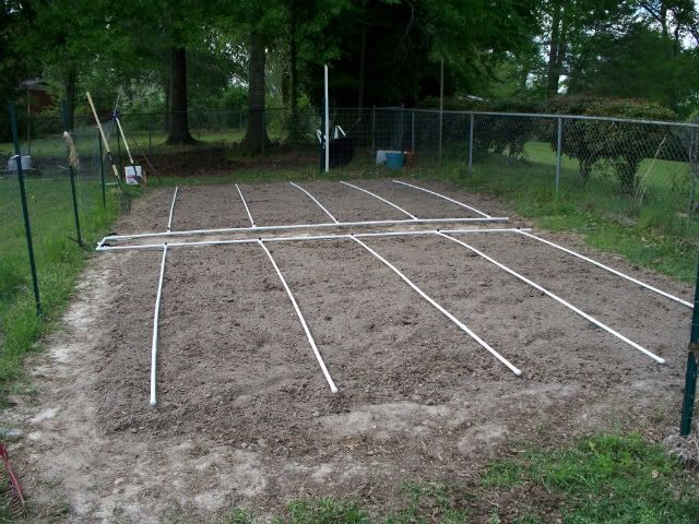 PVC Drip Irrigation System - get the water down where it needs to be