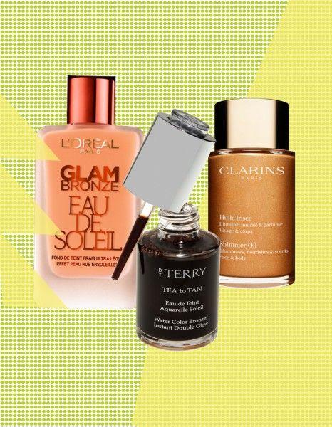 Crème, fluide ou huile, autant de textures qui nous offrent un joli hâle avant l'été. Voici nos 8 produits préférés. http://www.elle.fr/Beaute/Maquillage/Tendances/Les-meilleurs-autobronzants-visage-et-corps-du-moment