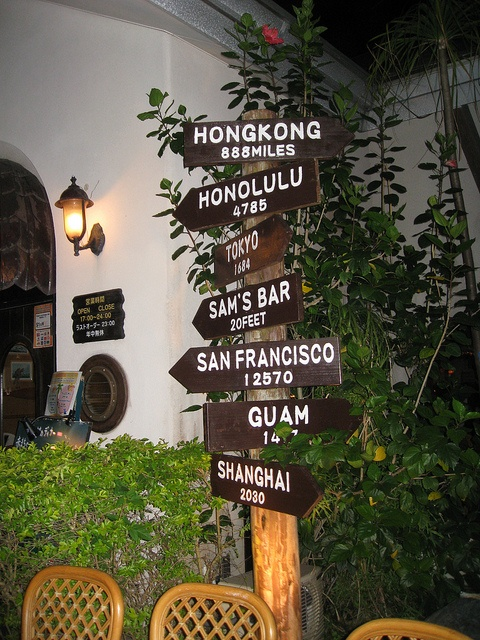 Sam's By The Sea Restaurant Okinawa City, Okinawa Japan