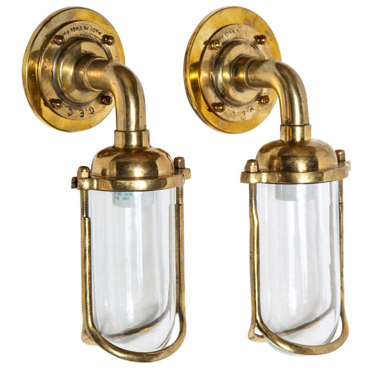 Image On Pair of Fish Mouth Sconces