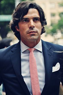 """Nacho Figueras.jpg - """"Nacho started modelling for Ralph Lauren in 2000, eventually become the face of Ralph Lauren Black Label in 2005, and has been under contract since.[2][6][11] In May 2009, he was made the face of the World of Polo fragrances, including Polo Black, Polo Blue and Polo Modern Reserve.[12][13] Black Watch is also a label under the Ralph Lauren umbrella, offering tight polo shirts emblazoned with Nacho's number 2, an idea of Figueras' to make it a billion-dollar brand."""""""