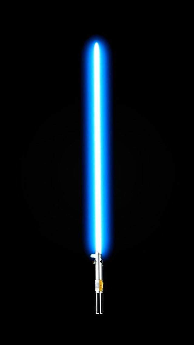 ↑↑TAP AND GET THE FREE APP! Art Creative  Star Wars Laser Lightsaber Minimalism HD iPhone Wallpaper