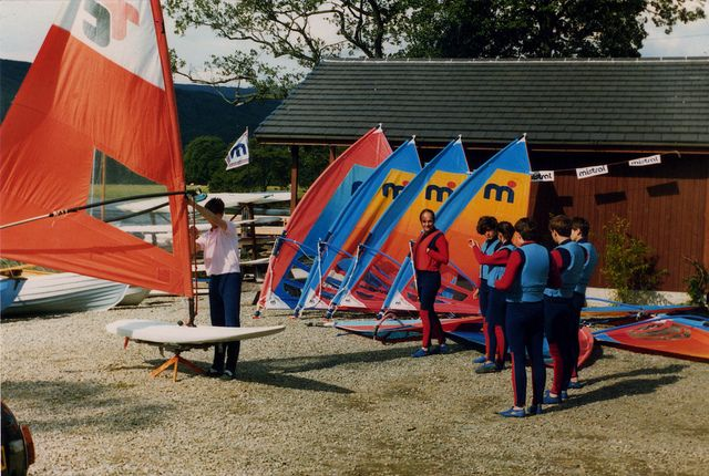 Windsurfing Lessons Forest Hills 1985 - 86 | Flickr - Photo Sharing!