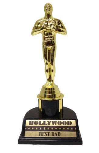 Best Dad Trophy Victory Award Great gift for father's day!