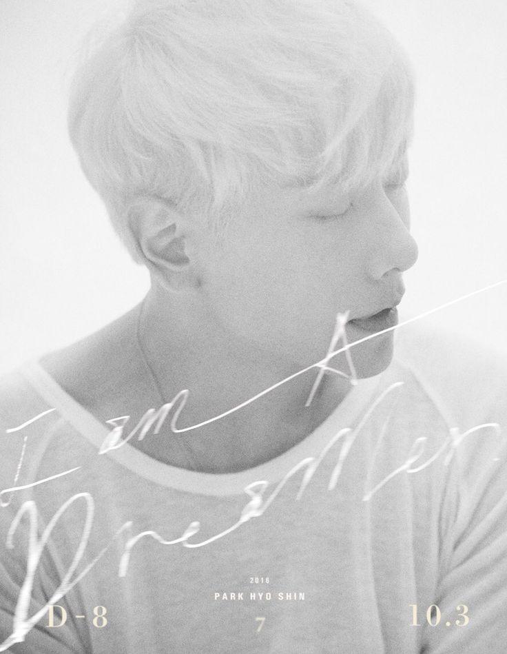 "Park Hyo Shin Shares Teaser Images For Return With ""I Am A Dreamer"""